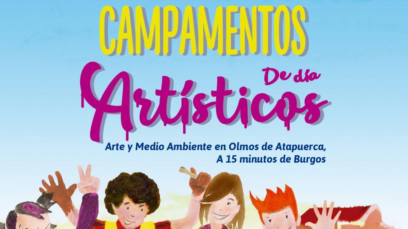 Campamento de día ART-TERRA Verano 2019 A 15 Minutos de Burgos