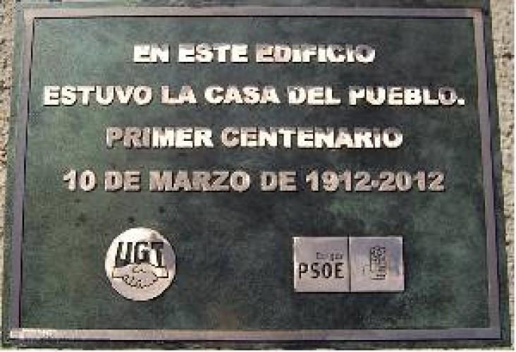Placas conmemorativas por encargo