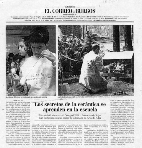 LOS SECRETOS DE LA CERÁMICA