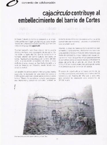 MURALES ARTÍSTICOS DE CORTES Imagen de uno de los paneles que se van a realizar para Cortes con motivos del Cid Campeador (12m2 de talla en total)