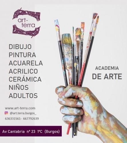 Academia de Arte en Burgos ofrecemos Clases de Dibujo, pintura, acuarela, acrilico, cerámica, niños, adultos, en Av. Cantabria N 23 1C Burgos