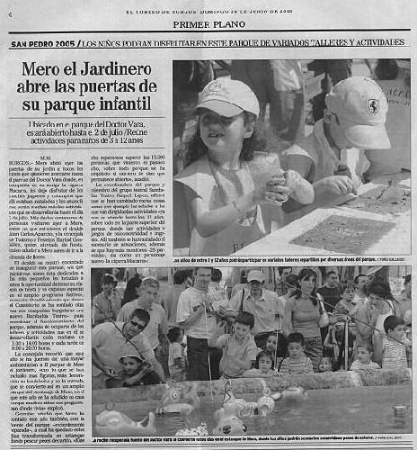 PARQUE DE MERO EL JARDINERO