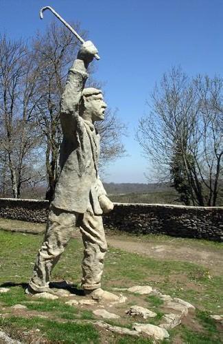 PASTOR GIGANTE Miden 6 metros de altura. Situados en el Monte Santiago.