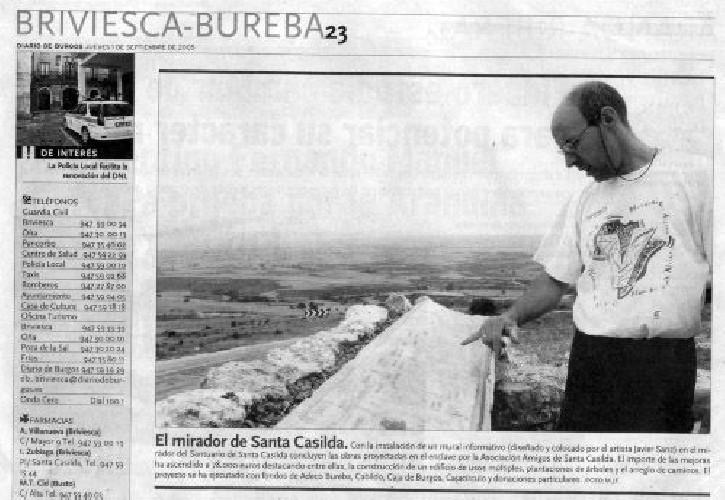 MIRADOR DE SANTA CASILDA