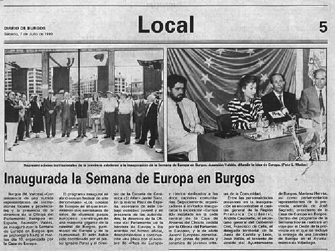 SEMANA DE EUROPA EN BURGOS