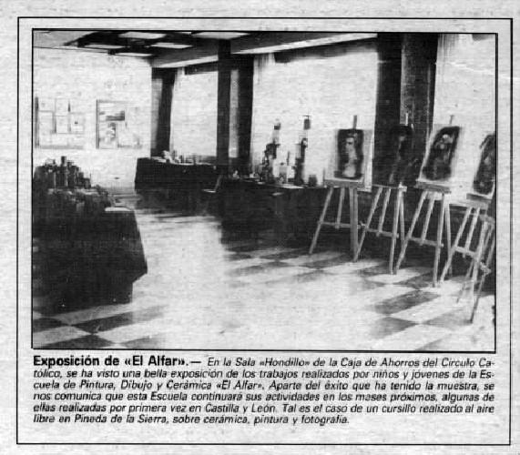 EXPOSICIÓN DE EL ALFAR
